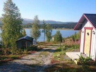 Fjallstuga for singlar i Svenska Lappland