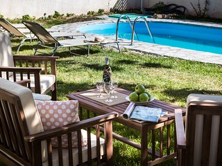 Luxurious Skala Pool Cottage