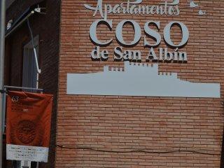 APARTAMENTOS TURISTICOS COSO DE SAN ALBIN  'SOL'