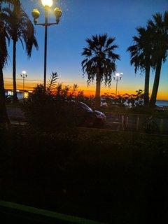 Le matin du balcon
