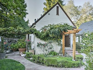 NEW! Menlo Park 1BR English Tudor Garden Cottage!