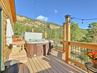 NEW! 3BR Bailey House w/ Mountain Views & Hot Tub!