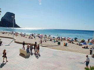 Situación inmejorable, apartamento con encanto en primera linea de la playa