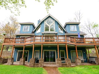 Big Bear Lakehouse is a beautiful home full of lakefront charm, top amenities