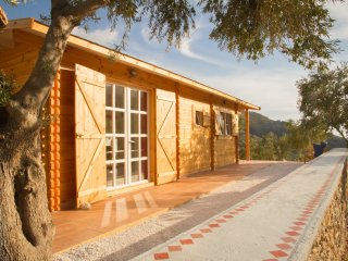 SOUGIA Charming Wooden Eco-House in an olive grove surrounded by mountains