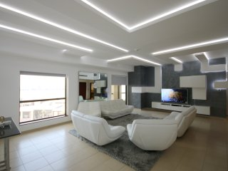 Panoramic Sea view 5 Bedroom , 5 Bathrooms, JBR Penthouse, RIMAL 5