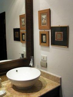 The main bedroom bathroom.