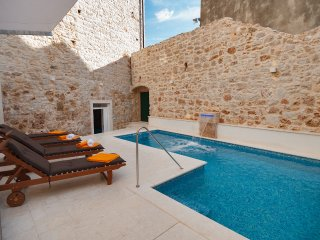 Luxury Villa Bol with pool by the sea and beach in the center of Bol on Brac