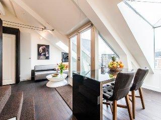 Relaxing rooftop studio in Amsterdam