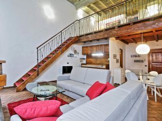 Beautiful apartment with spacious open loft