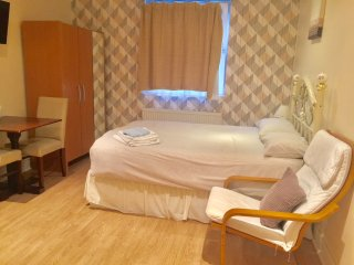 (F1/4) Holiday Studio close to Finchley Road Station ,