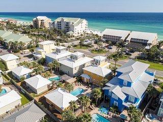 Gulf Views! Private Pool! Beach Access Steps Away!
