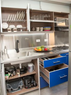 Fully loaded kitchen with everything you may need to cook