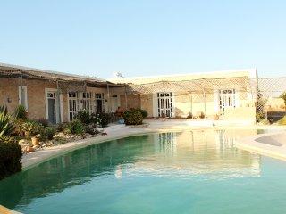 Cambres et salon sur piscine
