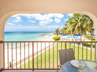 Georgetown Villa 218 - Direct Ocean Front Condo with Spectacular Caribbean View!