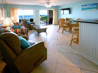Step out your door to the beach! 1st Floor Beachfront Condo - Low-Density Resort