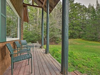 NEW! Rustic Woodland Home on 10 Acres By Stowe Mtn