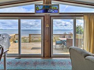 St. Ignace Cottage w/ Deck & Beach on Lake Huron!