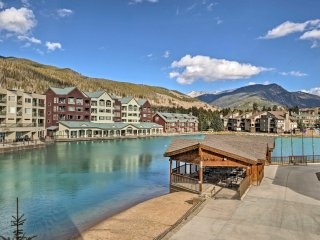 New! Cozy Keystone Studio Condo w/Resort Amenities