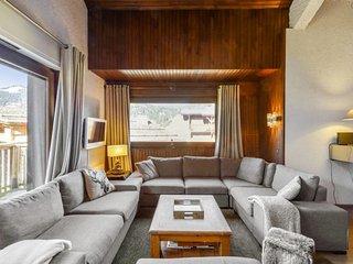 Splendid mountain cabin in Megève
