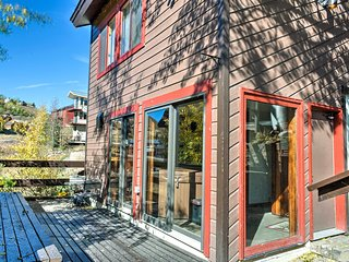 New! 2BR Mt. Crested Butte Townhome w/ Mtn. Views!