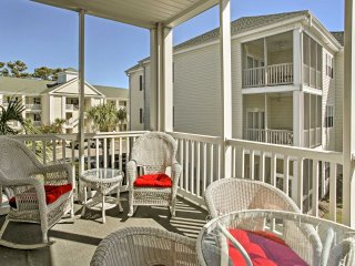 NEW! North Myrtle Beach Condo - Steps to Shore!