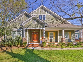 Charlotte Home w/Deck in NoDa District - Near UNC!