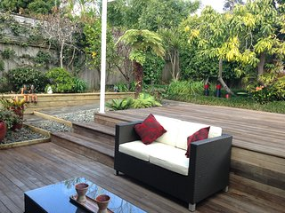 Tranquil garden, private and secure