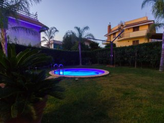 Villa Garden 6+1 Heated POOL Parking Sauna WiFi Jacuzzi Golden Sandy Beach 100m