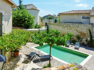 Stunning house in Molleges, Provence, with pool and verdant garden