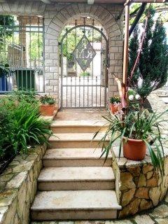 Entrance to the Villa.