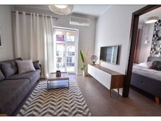 Apartment with bedroom, balcony & underground parking on the promenade