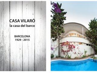 Casa Vilaro Park Guell. grupos y familias piscina un oasis en la ciudad