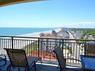 Mar Vista Grande Condo,4BR/Penthouse.southern side oceanview, N. Myrtle Beach