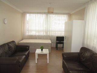 A very spacious modern double room