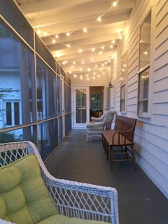 Screened in wraparound porch