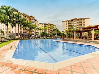 NEW LISTING! Dog-friendly condo w/shared pool & great location near beach