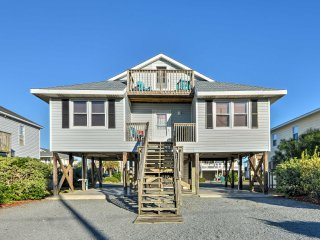 'Merlins Magic' 3BR Surf City Home - Walk to Beach!