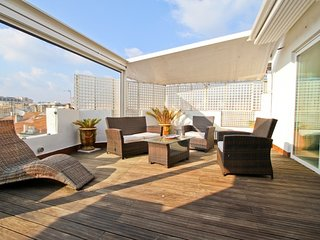 Roma Penthouse - fabulous last floor flat with superb terrace close to Croisette
