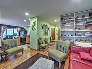 NEW! Old Town Homer Condo w/ Ocean Views!
