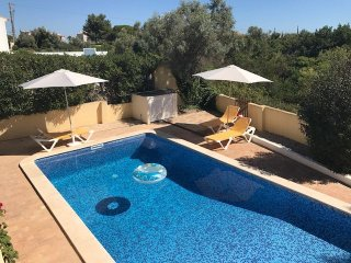 Spacious villa with private pool and nice views close to beaches
