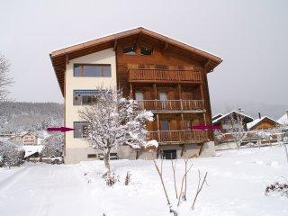 4-Zimmer Ferienwohnung mit super Aussicht, 6 Pers.