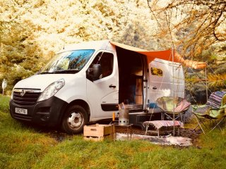 Hamish, Handmade campervan hire from Quirky Campers