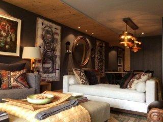 Modern 2 bed 2 bath luxury apartment in Saanen