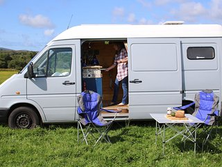 Little Tina, handmade campervan rental from Quirky Campers