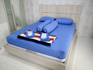 1BR in Apartment Salemba with hot shower