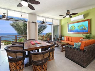 Brand new 2 bdrm ocean view condo with huge roof-top patio and outdoor kitchen