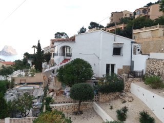 Nice beachstyle villa Calpe seaview, private pool,8p,wifi