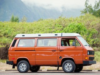 Oahu Camper Van for Hire. See Hawaii your way in a Classic VW pop top Camper Van