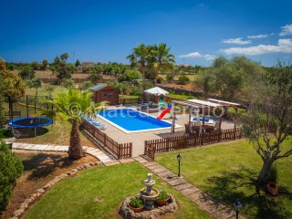Villa Santa Eulalia: Modern country villa with pool, garden and animal park